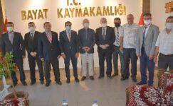 Milletvekili Taytak, ilçelere çıkartma yaptı