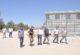 Sinanpaşa spor salonu inşaatında inceleme