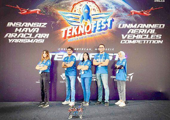 AKÜ Havacılık ve RC Araç Topluluğu 2021 Teknofest'ten Ödülle Döndü