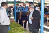 Başkan Şahin, Pazar Esnafını Ziyaret Etti
