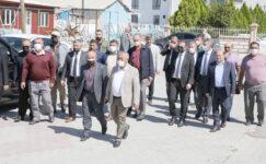 Başkan Zeybek'ten Osmangazi Mahallesi'ne Ziyaret