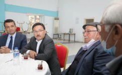 İscehisar'da Cemevi inşaatı devam ediyor