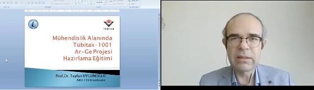 TÜBİTAK 1001 AR-GE Projesi Hazırlama Eğitimi Programı Başladı