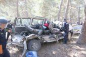 Öğrenci servisi kaza  yaptı: 5 ölü, 3 yaralı
