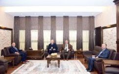Rektör Karakaş, FEDEK Yöneticileri ile görüştü