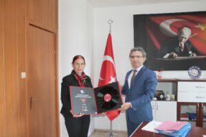 Burcu'dan Başsavcı Karabacak'a hayırlı olsun ziyareti