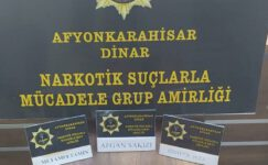 Dinar'da 2 kişi uyuşturucudan gözaltına alındı