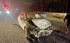 İki otomobil çarpıştı: Sürücüler yaralandı