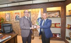 SANİMDER'den Başkan Mustafa Çöl'e ziyaret