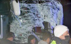 Sandıklı'da yolcu otobüsü tıra çarptı: 1 ölü, 11 yaralı