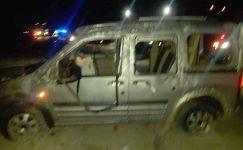 Sandıklı'da trafik kazası:1 ölü, 2 yaralı