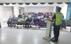 Şuhut'ta okul servis şoförlerine eğitim