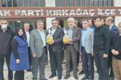 Yurdunuseven, Manisa AK Parti teşkilatlarıyla bir araya geldi