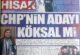 'Belediye başkan adayımız BURCU KÖKSAL'DIR'
