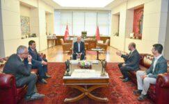 CHP'li belediye başkanları Ankara'da