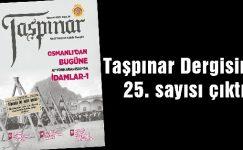 Taşpınar dergisinin yeni sayısı çıktı