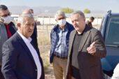 Başkan Zeybek, OSB'de boş arsa aradı